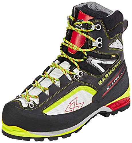 Garmont Icon Plus GTX Mountaineer Boots Men Black/Acid Green Größe UK 12 | EU 47 2019 Schuhe Plus Gtx Boot