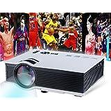 Ts-40 (Uc40) Portable Mini 800Lm Led Multimedia Projector Home Cinema Theater (White)