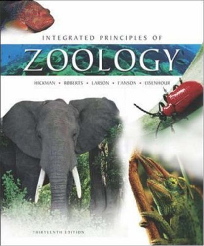 Integrated Principles of Zoology by Jr., Cleveland P Hickman (2005-02-01)