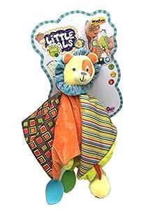 winfun- Cesar El León Acurrúcate Conmigo, Little Pals, Color Amarillo (CPA Toy Group 139)