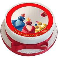 Twirlywoos - Decoración comestible para tarta (19 cm), ...