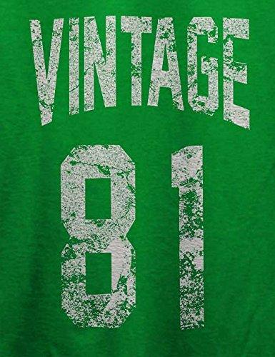 Vintage 1981 T-Shirt Grün