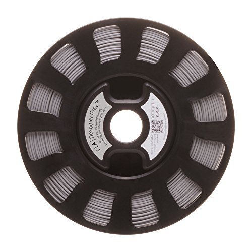 lecomptoir3d RBXPLAGRIS CEL SMARTReel, PLA, Automatisation des paramètres d'impression, poids 750 g, diamètre 1,75 mm, gris