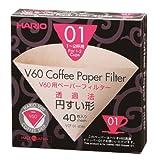 Hario VCF-01–100M Papierfilter, 1 Stück