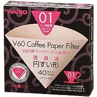 Hario VCF-01–100M–Confezione di filtri in carta per