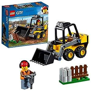 LEGO CityGreatVehicles RuspadaCantiere Giocattolo con Minifigura dell'Operaio, 60219  LEGO