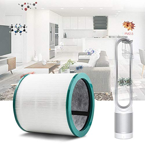 Eayse Luftreiniger Filter,Luftreiniger Ersatz HEPA Filter Für Dyson TP00 TP02 TP03 AM11