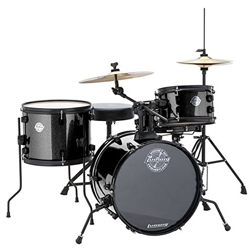 Ludwig LC178X Pocket Kit Black Sparkle - Set de...