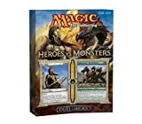 "Wizard of the Coast 32706 - Magic The Gathering: Doppio mazzo di carte ""Eroi contro mostri"""