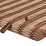 TLMY Tende avvolgibili Tende Orizzontali Tenda di bambù Naturale Parasole cieco Romano Tapparella di bambù (Color : D, Size : 90x120cm)