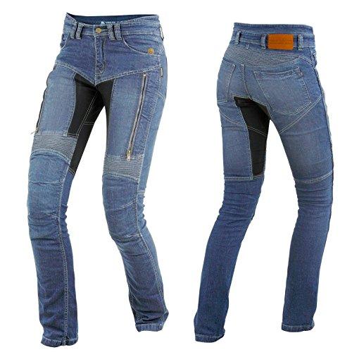 *Trilobite Damen Motorrad Jeans PARADO Hose lang, 03066144, Größe 28/44*