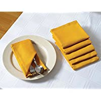 Solido del cotone di colore Cena Tovaglioli - 20