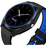 JOKIN InFocus Bingo 21 Compatible V9 Waterproof Bluetooth Smart Watch Touch Screen With Camera, Smartphones Support SIM/TF Card Insert