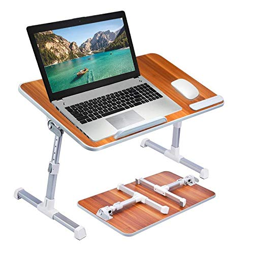 Callas Adjustable Portable Laptop Table, Bed Table, Notebook Stand, Laptop...