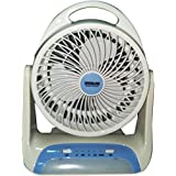 "Care 4 7"" 2 Speed 2816 Spacelite Powerful Rechargeable Table Fan With 26smd LED Lights"