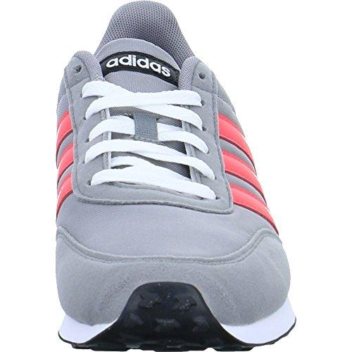 adidas V Racer 2.0, Sneaker Uomo Grigio (Grey Three/solar Red/core Black)
