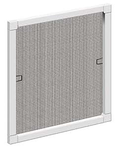 Schellenberg 50732 Insektenschutz-Fenster STANDARD, weiß, 100 x 120 cm