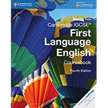 Cambridge IGCSE First Language English Coursebook.
