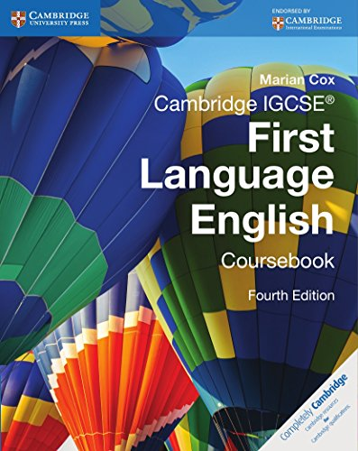 Cambridge IGCSE. First language english coursebook. Per le Scuole superiori. Con espansione online (Cambridge International IGCSE) por Marian Cox