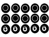 DEKPRO 5 juegos de anillo de sellado de repuesto para Smok TFV8. Mini accesorios Cloud Beast para TFV8, atomizadores de sellado X-Baby para TFV8 Baby