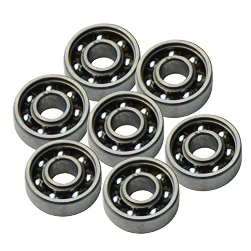608 Bearings , OverDose 3PCS 608 Hybrid Ball Bearings For Tri-Spinner Hand...