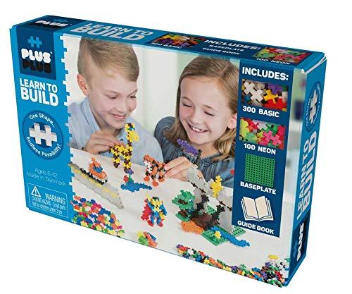 Plus Plus 52238 Konstruktionsspielzeug-Mini Basic 600-Learn to Build