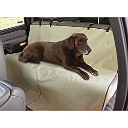 Saiyam Car Pet Seat Waterproof Cover For Back Seat Protection For Dog / Cat