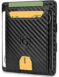 GenTo® Pacific - Geldbörse für Herren und Damen - TÜV geprüft - Magic Wallet - Magischer Geldbeutel mit großem Münzfach - Inklusive Geschenkbox - Smart Wallet - Portemonnaie für Männer und Frauen
