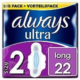 Always Ultra Long Binden (Größe2) mit Flügeln 22Stück