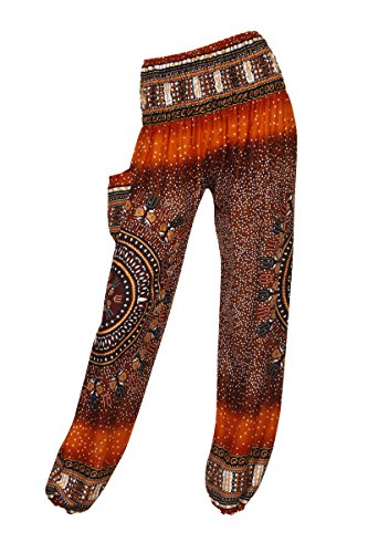 thaiuk-damen-hose-bubbles-orange