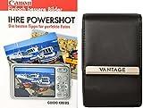 Foto Kamera Tasche VANTAGE ULTIMATE 4 Leder plus Fotobuch Ihre Canon Powershot SX600 SX610 SX620 G9 S120 S200