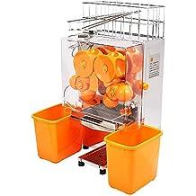 SucceBuy - Exprimidor de naranjas, 20 a 22 naranjas, máquina automática comercial