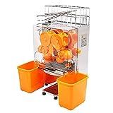 Ambesten Orangensaftpresse Orangenpresse Saftpresse Orange Juicer Standgerät aus Edelstahl und...
