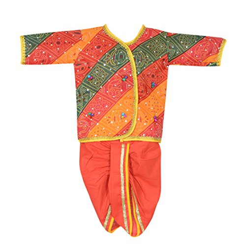 ahhaaaa's Rajasthani Dress for baby Boys(6-9 Months)