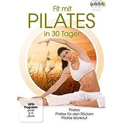 Fit mit Pilates in 30 Tagen [3 DVDs]