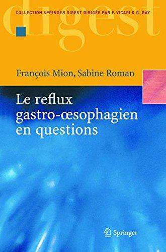 Le reflux gastro-oesophagien en questions