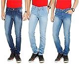 Stylox Pack Of 3 Jeans Full Lycra Slim F...