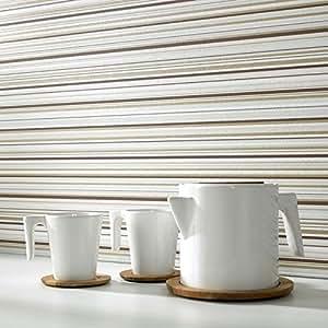 Contour Barcode Linear Kitchen Bathroom Wallpaper Sale
