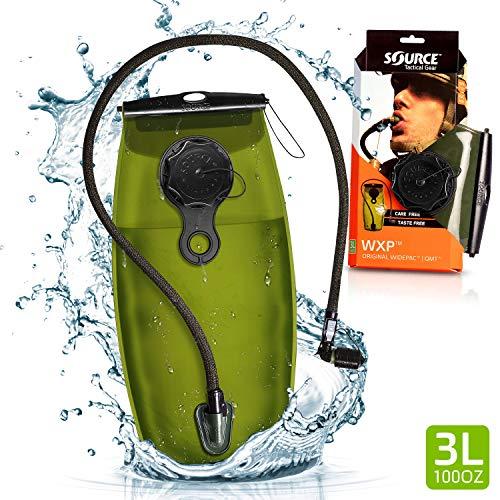 Source WXP Storm Valve Hydration System Trinkblase, Black, 2 Liter / 70 oz. -