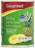 Gourmet Piña en su Jugo en Rodajas sin Azúcares Añadidos - 340 g