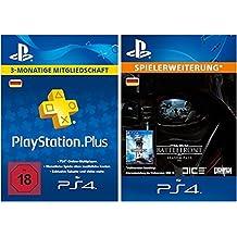 Star Wars Battlefront Season Pass + PlayStation Plus Mitgliedschaft - 3 Monate [PS4 PSN Code - deutsches Konto]