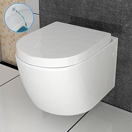 Hänge WC Sanitaerkeramik Toilette mit Taharet / Bidet Funktion