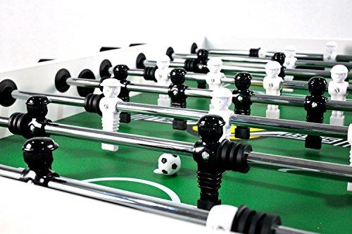 Speedball Tischkicker Premium Kickertisch in Profi Turnier Ausführung - schwarz -