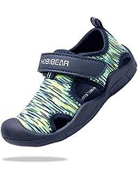 ChayChax Zapatos de Agua para Niños Sandalias con Punta Cerrada de Deportivo Secado Rápido Zapatillas de Playa Piscina Natación