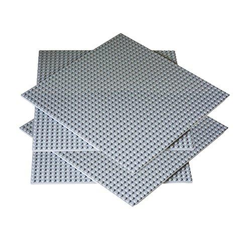 Preisvergleich Produktbild 4 Große Graue Bauplatte 32 x 32 Kompatible mit LEGO & DUPLO