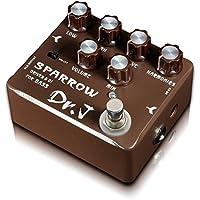 DR.J D-53 - Pedal de efecto overdrive para bajo