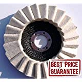Fieltro Disco Pulido Flap disco metal Inox Pulido 125x 22amoladora angular 125mm 5pulgadas