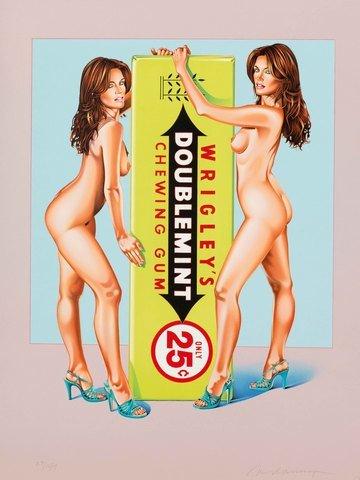mel-ramos-doublemint-twins