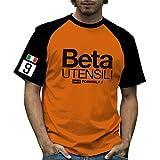 T-shirt storica formula 1 marzo Beta Utensili Black and Orange XX-Large