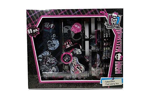 Undercover MHIN1120 - Schreibbox Monster High, 69-teilig
